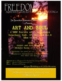 Art and Soul: A Series of 3 Workshops with Michele Sarna at St.Benedict's