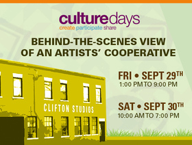 Culture Days 2017 - Behind-the-scenes view of an artists cooperative