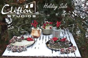Clifton Studios Holiday Art Show and Sale December 7, 8 and 9